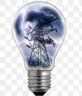 Lightning Bulb Creativity Electric Tower - Incandescent Light Bulb Electricity Electric Power Electric Light PNG