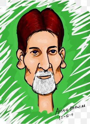Amitabh Bachchan - Amitabh Bachchan Cartoon Face Caricature PNG