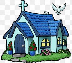 Cliparts Church Contributions - Church Cartoon Drawing Clip Art PNG