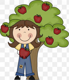 Apple - Ready Set Grow Daycare Apple Seed Oil Teacher Clip Art PNG