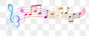 Music Notes Clipart Colorful - Vector Graphics Musical Note Clip Art PNG
