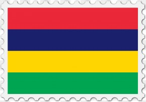 Stamps Clipart - Flag Of Mauritius National Flag Flag Of Italy Flag Of Honduras PNG