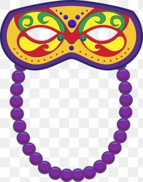 Mardi Gras - Mardi Gras In New Orleans Mask Clip Art PNG
