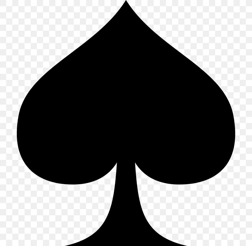 black card spade  Playing Card Spades Card Game Suit Clip Art, PNG, 7x7px ...