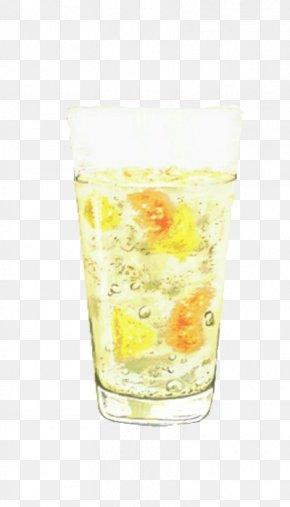 Cartoon Pineapple Soda - Soft Drink Juice Orange Drink Carbonated Drink Lemonade PNG
