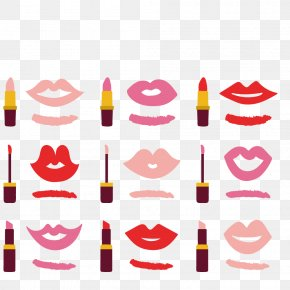 Lipstick Lips - Lipstick Cosmetics Lip Gloss Make-up PNG
