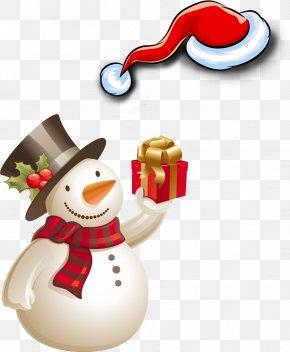 Christmas Snowman - Snowman Theme Wallpaper PNG