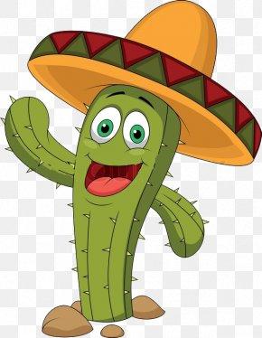 Cactus - Cactaceae Cartoon Clip Art PNG