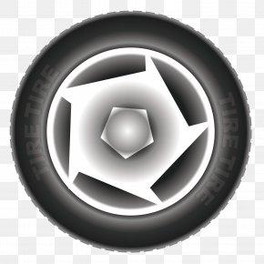 Vector Car Tires - Car Tire Wheel PNG