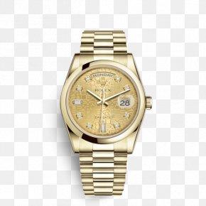 Rolex - Rolex Submariner Rolex Day-Date Watch Gold PNG