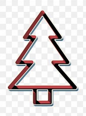 Traffic Sign Symbol - Christmas Icon Tandenbaum Icon Tree Icon PNG