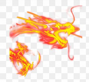 Chinese New Year Dragon - Chinese Dragon Fire PNG
