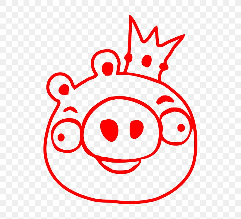 Coloring Book Drawing Angry Birds Image The Pig King Png 745x745px Coloring Book Angry Birds Area