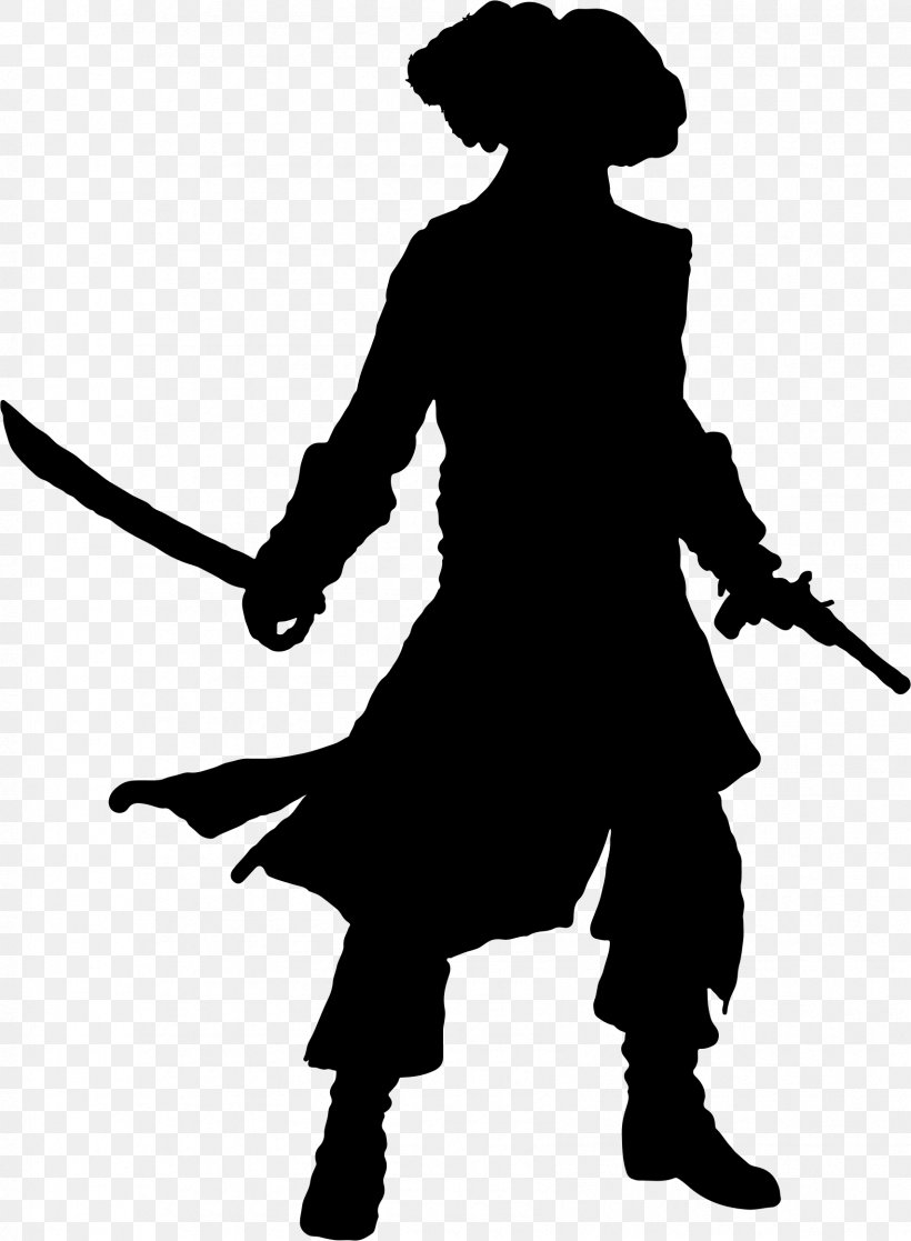 Piracy Silhouette Clip Art, PNG, 1706x2324px, Captain Hook, Atlantic Beach, Black, Black And White, Cowboy Download Free