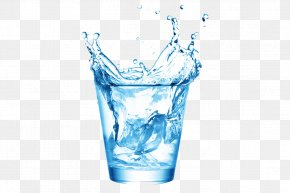 Water Is The Source Of Life - Glass Water Drinking PNG