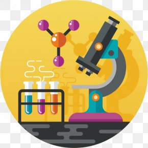 Cartoon Microscope - Science Microscope Euclidean Vector PNG