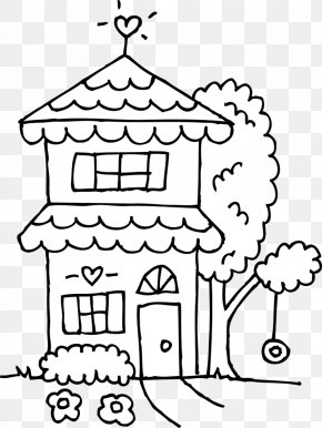 Drawing White House Clip Art