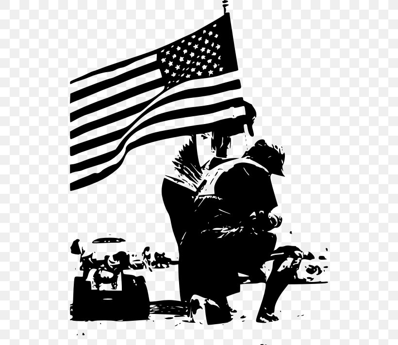 Memorial Day Black And White Clip Art, PNG, 532x712px, Memorial Day, Amvets Post 23, Art, Black And White, Cartoon Download Free