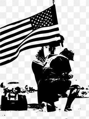 Memorial Day Usa - Memorial Day Black And White Clip Art PNG