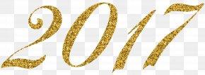2017 Gold Clip Art Image - Diagram Clip Art PNG