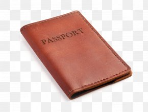 Wallet - Bicast Leather Wallet International Passport PNG