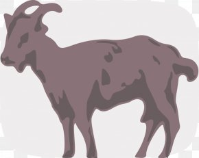 Goat - Goat Line Art Clip Art PNG