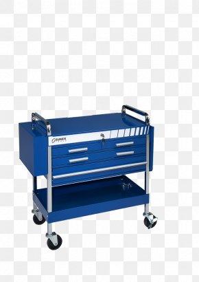 Design - Drawer Cobalt Blue Crash Carts PNG