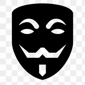 Anonymous Mask - IPhone Mask Download PNG