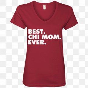 Best Mom Ever - T-shirt Neckline Sleeve Hoodie PNG
