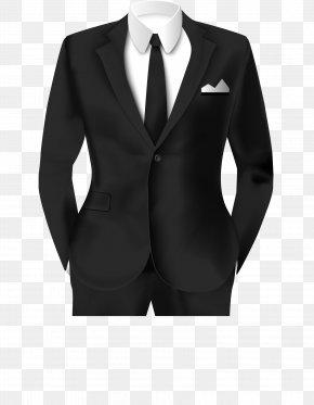 Black Suit Work Photo Template - Tuxedo Suit Clothing Formal Wear PNG