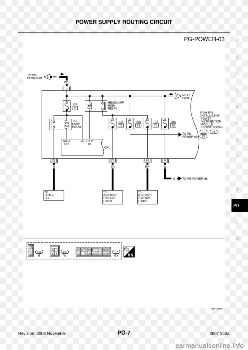 nissan schematic diagram 2007 nissan 350z technical drawing electronic circuit paper  png  2007 nissan 350z technical drawing