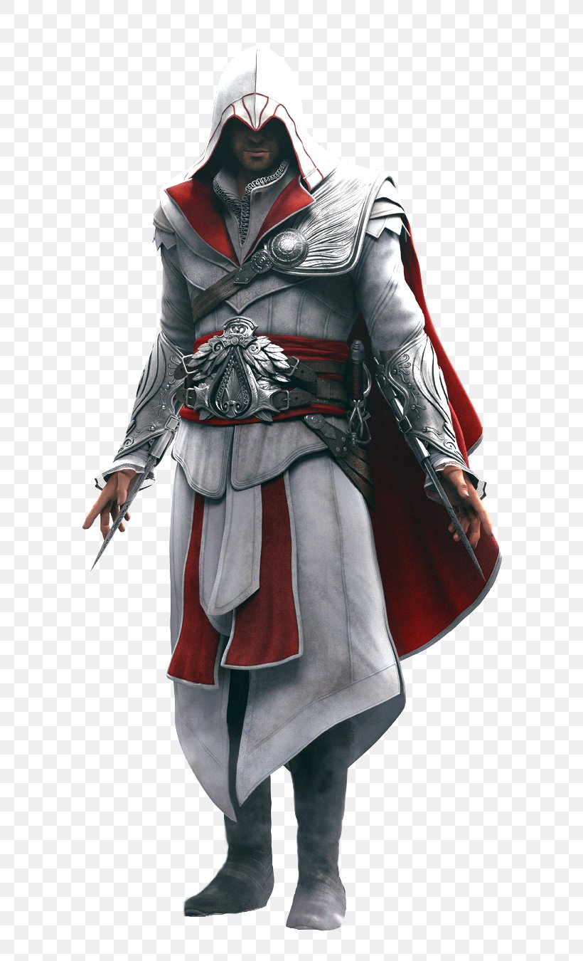 Assassin's Creed: Brotherhood Assassin's Creed II Ezio Auditore Assassin's Creed: Revelations Assassin's Creed IV: Black Flag, PNG, 650x1350px, Assassins Creed Brotherhood, Action Figure, Armour, Assassins, Assassins Creed Download Free