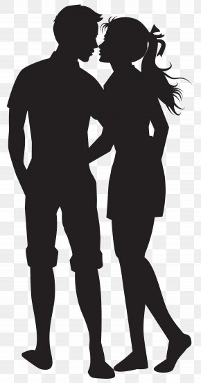 Silhouette - Clip Art Couples Image Vector Graphics PNG
