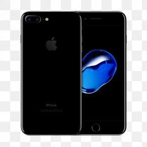 Apple - Jet Black Apple Telephone Unlocked PNG
