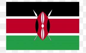 National Flag - Flag Of Kenya Clip Art PNG