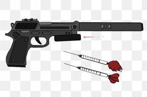 Guns - Firearm Tranquillizer Gun Tranquilizer Weapon Dart PNG