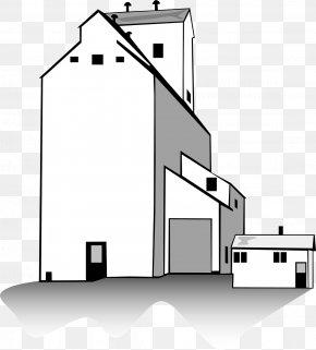 White House - Silo Grain Elevator Clip Art PNG