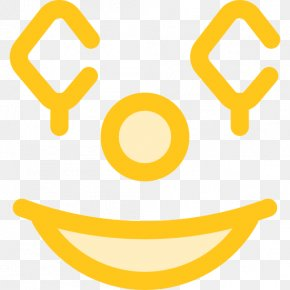 Gold Icon Vector - Smiley Clown PNG