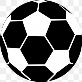 Vector Soccer Ball - Football Black And White Clip Art PNG