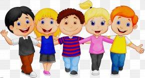 Team Fun - Animated Cartoon Cartoon People Social Group Community PNG