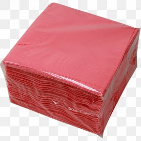 Cloth Napkins Paper Red Material PNG