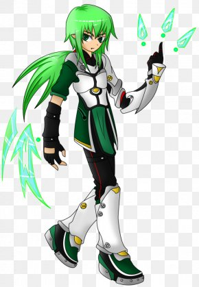 Character Gallery - Elsword Character Costume Massively Multiplayer Online Game Fan Art PNG