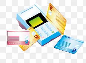 Credit Card POS Machines - Point Of Sale Credit Card Adobe Illustrator Icon PNG