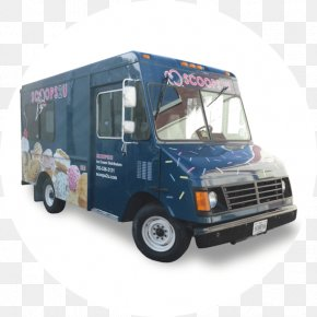 Food Truck - Car Ice Cream Van Truck Commercial Vehicle PNG