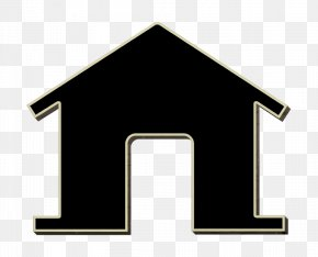 Roof Architecture - Home Icon Home Page Icon House Icon PNG