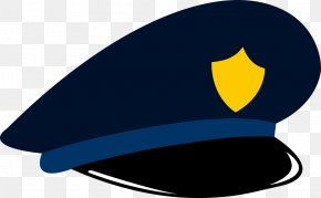 Policeman Hat - Police Officer Law Enforcement Clip Art PNG