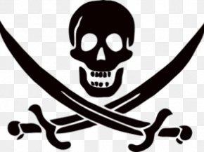 Springbok Banner - Piracy Jolly Roger Clip Art Image PNG