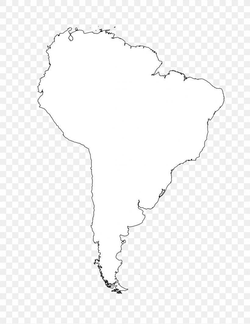 South America Latin America United States Blank Map Clip Art ...