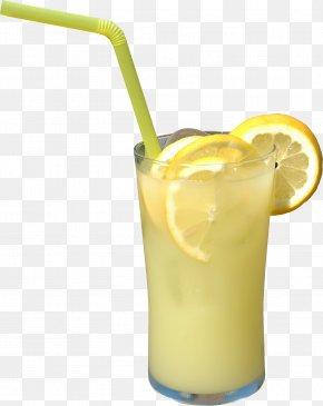 Lemonade - Harvey Wallbanger Orange Juice Soft Drink Cocktail PNG
