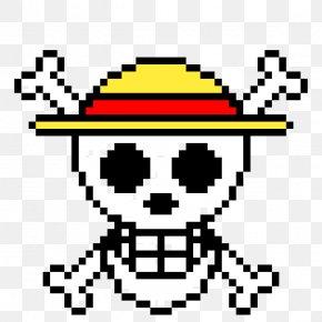 One Piece - Monkey D. Luffy Roronoa Zoro Pixel Art One Piece Minecraft PNG